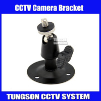Hot 2pcs,CCTV Camera Bracket ,Black Ceiling Wall Mount Stand Bracket for CCTV Security Camera, Free Shipping