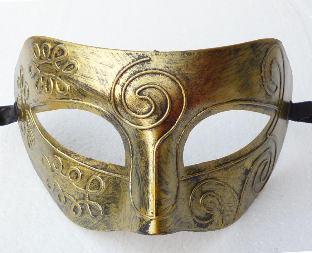 Antique Greek Roman Warrior Gladiator Men Venetian Mardi Gras Party Masquerade Mask(China (Mainland))