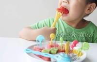 Cute animal series of tableware fork spoon fruit fork original design  pastry fork children's gift 10pcs/set