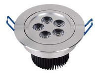 Free shipping 6 pcs/lot 5 Watts/ cool white/pure white/warm white, LED ceiling light 2013 hot sell