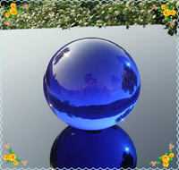 Free Shipping 80mm Cheap Price Deep Blue Crystal Ball For Table Decoration Safest Package with Reasonable Price