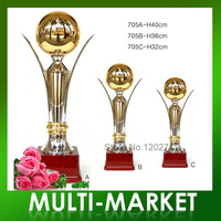 Free shipping/Wholesale World Trophy Cup High Quality Metal Trophy Cup For Winner
