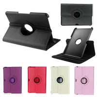 New 360 Degree Rotating Stand Smart Leather Case Cover For Samsung Galaxy Note 10.1 N8010 N8000 Free shipping
