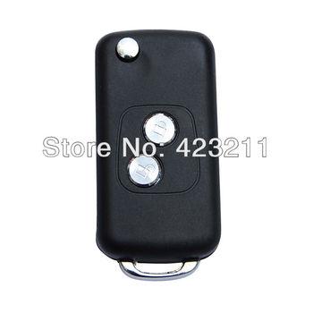 Folding Remote Key Case For PEUGEOT 107 207 307 407 C2