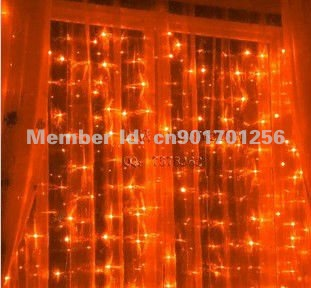 10pcs Free Express 4MX1M,9Colors Led Curtain lights String Wedding Xmas,Waterproof Controller Factory Outlet,Promotional(China (Mainland))