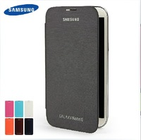 Flip Case for N7100 Leather Flip Cover With Back Battery Case For Samsung Galaxy Note II 2 N7100 Freeshipping