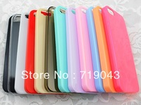 60 PCS / Lot Blank Colorful Plain Hard Back Case Cover for apple iPhone 4 4S 4s for use directly or DIY Decoration,free shipping