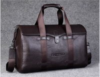 Male genuine leather Travel bags 2013 one shoulder bag large capacity  Luggage for the men 2Colors Free Shipping!