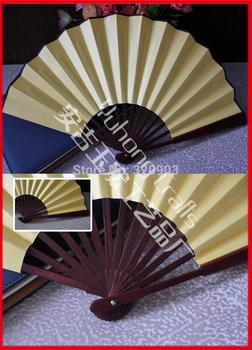 Free shipping 5pcs/lot DIY hand-painting Chinese bamboo folding fan souvenir gifts