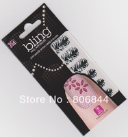 Free Shipping 3D Nail Sticker 24 Different Design 18PCS/SET Nail Decal For Beauty Nail Care #249