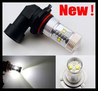 2pcs 30W HB3 9005 Bright White 600 Lumen CREE  Power LED Fog Light Bulb Lamp  DRL Low Beam Headlight