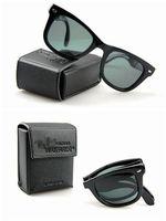 1 pair free shipping Unisex Eyewear Vogue retro Summer Sunglasses Driving Glasses Folding Design Sunglasses
