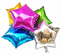Free shipping 100pcs/lots wholesales 18inch Aluminum Foil Balloons ,Star balloons , Wedding /Party decoration