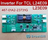 10PCS NEW 467-01A2-23731G 4 CCFL LCD TV inverters For TCL L24E09 L23E09 L23K01,467-0101-23731G 467-0101-24001 updated version