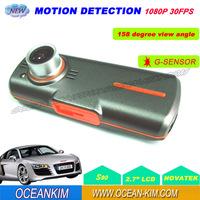 S90 1080P Full HD Car DVR Video Registrar 2.7inch LCD w/158 degree Wide Angle LED Night Vision Vehicle Dash Camera SG Post Free