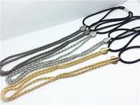 blingbling Fashion women's gold silver color Headband,high quality metal hair chian band 3 colors