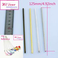 Wholesale Bun Hair Sticks/Pins Hairpins Gold/Silver/Rhodium/Bronze Plated Metal DIY/Handmade Fashion Hairwear Accessories/Z2