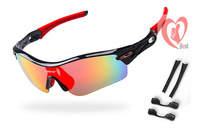 free shipping Sports Sun Glasses 5 color lens goggles Cycling Bicycle Bike Outdoor Eyewear Goggle Sunglasses