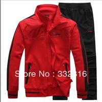 Free shipping Spring the new dynamic suit men and women leisure sports clothes during the spring and autumn clothes