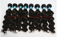 "Queen hair :new arrival: retail virgin Peruvian hair extension,wave 10""-34"",about 3.5oz/pcs"