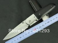 hot sale camping C.J .H HERBERTZ 2718 knife  steel and black color wood handle rosewood  white box packaging