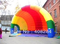Hot Selling Multi-Color Inflatable Shell Tent Inflatable Stage Cover for Promotion and Exhibition