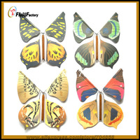 Free shipping Flying Butterflies Paper butterfly Close Up Street Kids Party Show Stage Magic Trick HOT SALE 60pcs/lot