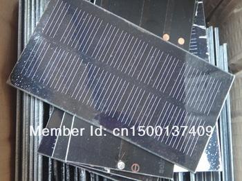 Wholesale!Mini Monocrystallicon Silicon Solar Panel Solar Cell Solar System Solar Module 0.8w 5.5v  30pcs/lot  Free shipping
