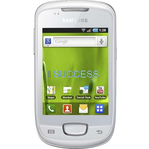 New Samsung Galaxy Mini S5570 3G WHITE ANDROID V2.2 TouchWiz v3.0(Hong Kong)