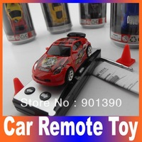 Free shipping Radio Control car Coke Can Mini RC Radio Remote Control Micro Racing Car 5pcs/lot