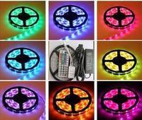 led strip 5050 60leds/m led strip RGB led flexible strip light+24Key IR Remote Control