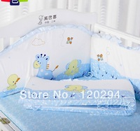 Baby Child Baby Bedding Kit Piece Set Bed Around Bed Sheet 3 Sizes Free Shipping
