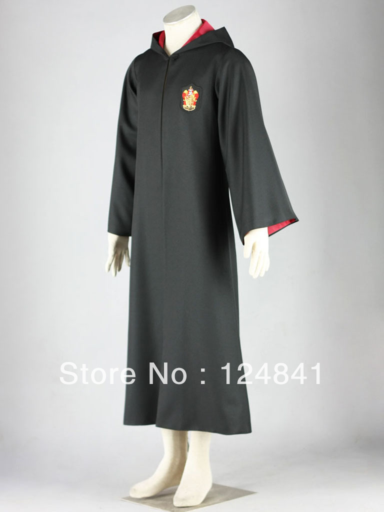 Мужской маскарадный костюм Harry potter magic robe Anime Cosplay Costume /Adult /Halloween
