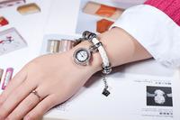 B021- Newest style charming diamond women wrist watch  Free shipping