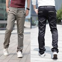 2014 new fashion best quality male slim casual pants board brand fashion sports men pants