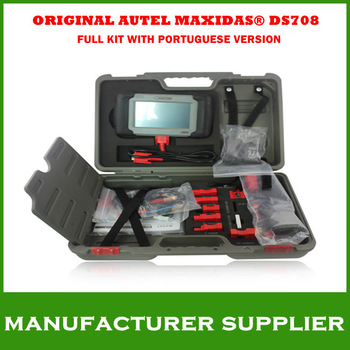 2013 Top Free shipping Original car diagnostics autel Autel Maxidas DS708 ds 708 Universal Diagnostic Scanner multilanguage