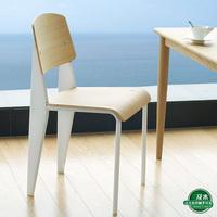 Jean Prouve Standard Chair Black