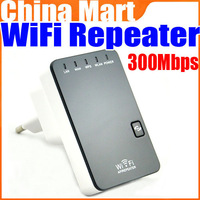 Mini IEEE802.11 b/g/n 300Mbps Wireless-N Router AP Repeater Adapter WLAN Range Extender Bridge Free Shipping + Drop Shipping