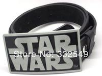 Star wars Belt Buckle with Free belt , Free shipping worldwide