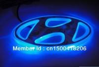 ption one,car logo light for HYUNDAI SONATA/ELANTRA,car badge lamp,auto led light,auto emblem led lamp/9.7x4.8