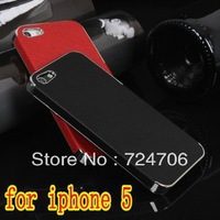 Ultra Slim Platinum Design Hard Case For iPhone 5 5s luxury Phone Cover Accessory free shipping