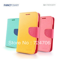 MERCURY FANCY DIARY WALLET COVER FLIP CASE FOR IPHONE 4 4s accessories