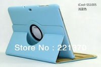 Case for Samsung Galaxy Tab 10.1  P5100/ P5110, Quality material, stand function, 360 degree rotating, 5 colors, FREE SHIPPING