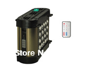 Free Shipping Phantom dimmable 50w Led aquarium light with timer inside,controlled by remoter