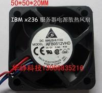 5CM AFB0512VHD -F00 5020 12v 0.24a  Cooling fan