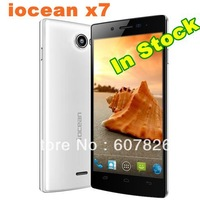 Free shipping Original Iocean X7 5'' inch 1920*1080 FHD IPS screen MTK6589 Cortex-A7 Quad Core