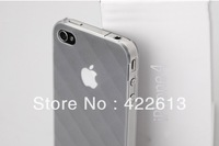 Free shipping , Wholesale price plastic mobile / cellphone case for iPhone4 4S,different color optional