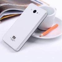 Smooth Glass Mirror Square Rear Cover Plastic Battery Cover For Xiaomi M2 Mis Mi2s M2s Mi-2s Mi 2s Mi2 S M2s M2 S  Free Shipping