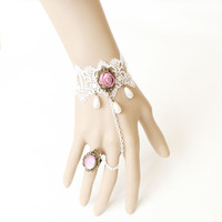 Goog Looking Bridal Lace Bracelet Set ,Available for Wedding ,Banquet,Party ,Dress as well as Daily Life,Wedding Favors