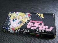 Free Shipping New Anime Sailor Moon Pretty Guardian Tsukino Usagi Long Wallet Purse Cosplay